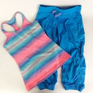Ivivva Matching Sets - Ivivva by Lululemon Live To Move Crop & Tank Top